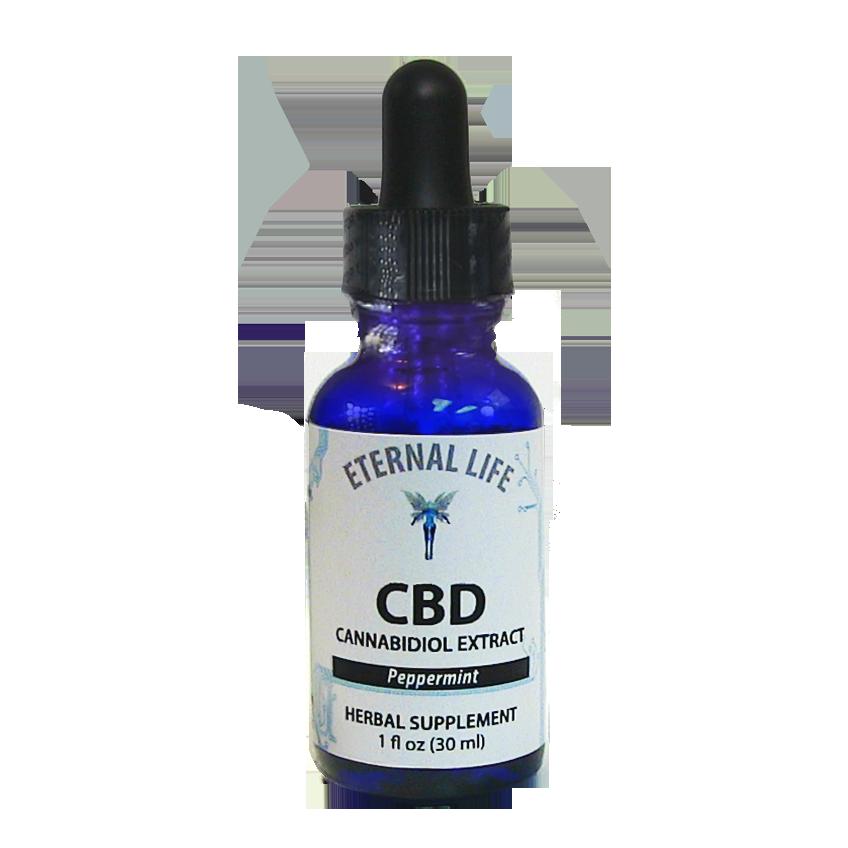 CBD Peppermint (Full Spectrum) product image (zoomed)