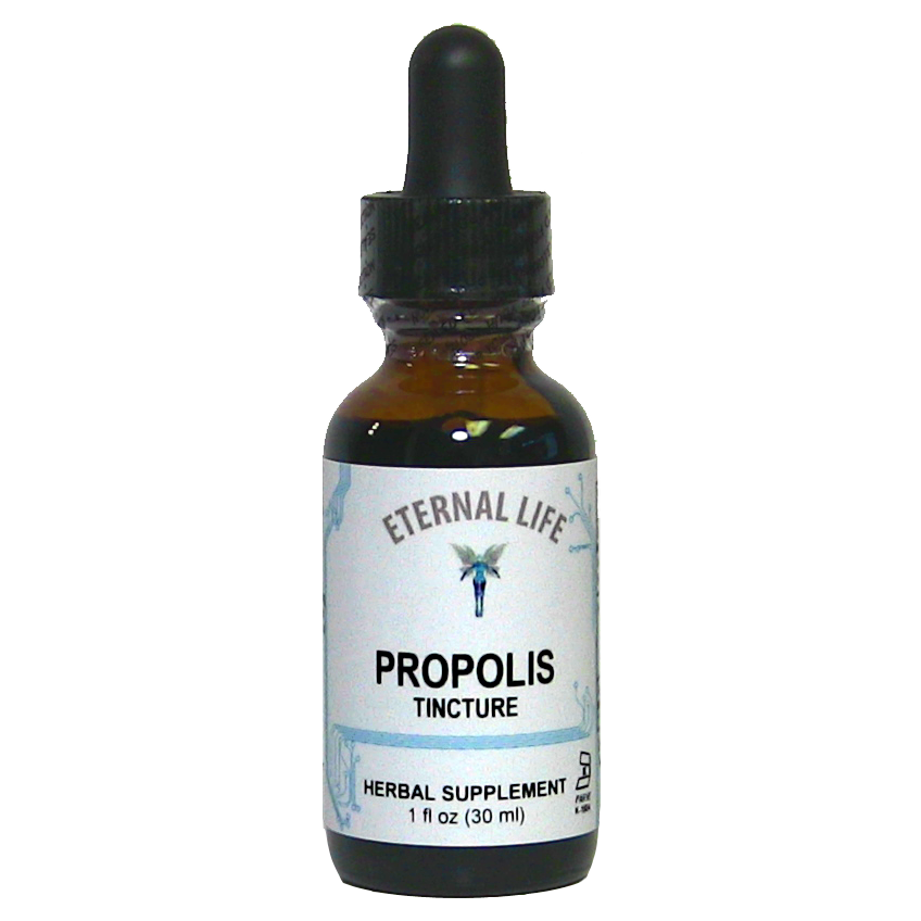 Propolis product image (zoomed)
