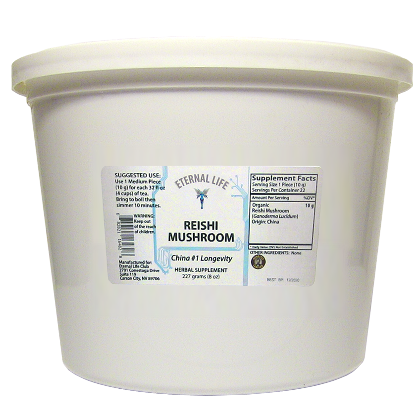Reishi Mushroom product image (zoomed)