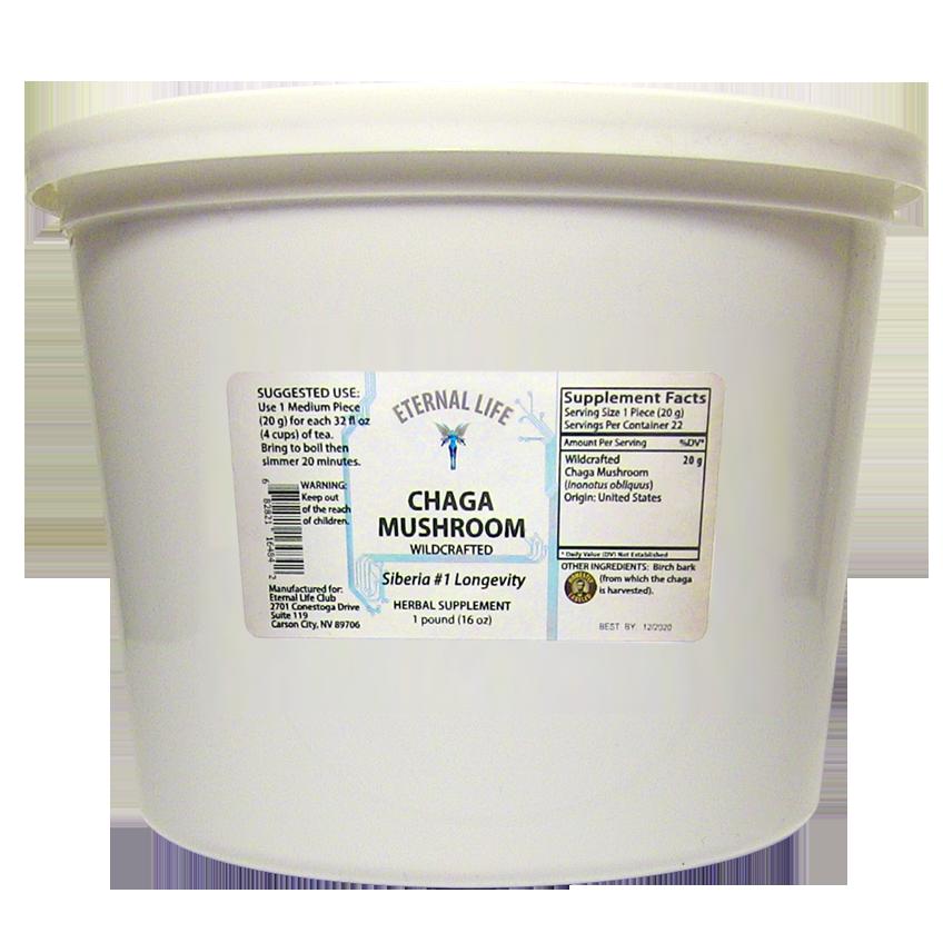Chaga Mushroom product image (zoomed)