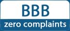 BBB zero complaints